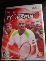 NEW Wii TopSpin 4 tennis game rated E in Manhattan, Kansas